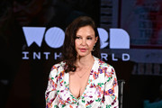 Ashley Judd speaks onstage at the 10th Anniversary Women In The World Summit - Day 2 at David H. Koch Theater at Lincoln Center on April 11, 2019 in New York City.