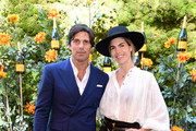(L-R) Nacho Figueras and Delfina Blaquier attends the 10th Annual Veuve Clicquot Polo Classic Los Angeles at Will Rogers State Historic Park on October 05, 2019 in Pacific Palisades, California.