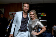 Charles Kelley and Cassie McConnell attend the 11th Annual ACM Honors at the Ryman Auditorium on August 23, 2017 in Nashville, Tennessee.