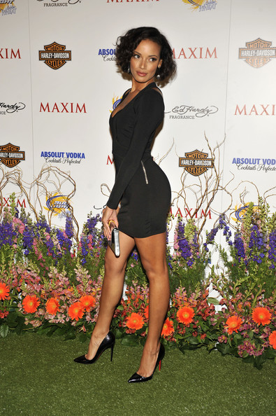 Selita Ebanks poses for a picture at the 11th Annual Maxim Hot 100 Party on May 19, 2010 in Los Angeles, California.