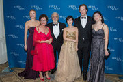 (L-R) Mary-Jane Lee, Waltraud Meier, Placido Domingo, Guest, Lachlan Glen and Ying Fang attend the 11th Annual Opera News Awards at The Plaza Hotel on April 10, 2016 in New York City.