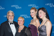 Placido Domingo, Lidia Bastianich, Mary-Jane Lee and Ying Fang attend the 11th Annual Opera News Awards at The Plaza Hotel on April 10, 2016 in New York City.