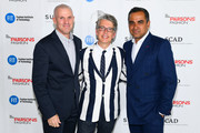 President and C.E.O. at Supima, Marc Lewkowitz,  VP Marketing and Promotions at Supima, Buxton Midyette and Designer Bibhu Mohapatra attends the 11th Annual Supima Design Competition during New York Fashion Week on September 6, 2018 in New York City.