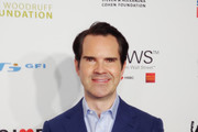 Jimmy Carr arrives at The Hulu Theater at Madison Square Garden on November 05, 2018 in New York City.