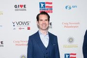 Jimmy Carr attends the 12th Annual Stand Up For Heroes at The Hulu Theater at Madison Square Garden on November 5, 2018 in New York City.