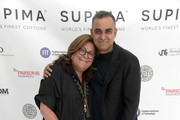 Fern Mallis and Bibhu Mohapatra attend the 12th Annual Supima Design Competition at Pier 59 Studios on September 05, 2019 in New York City.