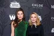 Lake Bell and Sharon Lawrence attend the 12th Annual Women in Film Oscar Nominees Party Presented by Max Mara with additional support from Chloe Wine Collection, Stella Artois and Cadillac at Spring Place on February 22, 2019 in Los Angeles, California.