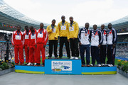 Usain Bolt and Michael Frater Photos Photo