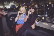 Fearne Cotton (L) representing Coppafeel! and and Davina McCall, representing Action Medical Research attend BGC Charity Day on September 11, 2017 in Canary Wharf, London, United Kingdom.