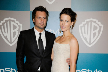 Kate Beckinsale Len Wiseman 13th Annual Warner Bros. And InStyle Golden Globe Awards After Party - Arrivals