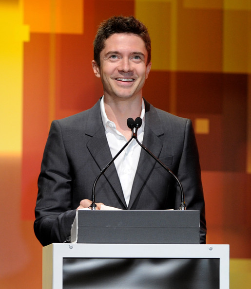 Actor Topher Grace speaks onstage at the 13th Annual Young Hollywood Awards at Club Nokia on May 20, 2011 in Los Angeles, California.