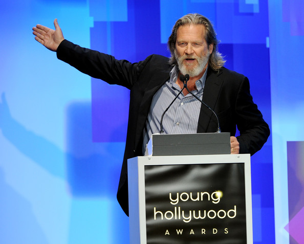 Actor Jeff Bridges speaks onstage at the 13th Annual Young Hollywood Awards at Club Nokia on May 20, 2011 in Los Angeles, California.