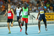 Kirani James and Jonathan Borlee Photos Photo
