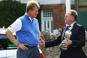 Ernie Els Peter Dawson Photos Photo