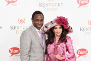 Avery Johnson and Cassandra Johnson attend the 143rd Kentucky Derby at Churchill Downs on May 6, 2017 in Louisville, Kentucky.