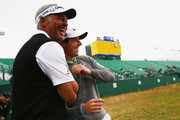 Darren Clarke and Rory McIlroy Photos Photo