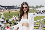 Actress Victoria Justice at The Stronach Group Chalet at the 144th Preakness Stakes at Pimlico Race Track on May 18, 2019 in Baltimore, Maryland.