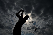 Justin Thomas of the United States plays a shot during a practice round prior to the 148th Open Championship held on the Dunluce Links at Royal Portrush Golf Club on July 16, 2019 in Portrush, United Kingdom.