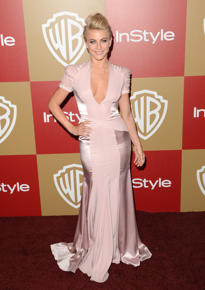 Dancer Julianne Hough attends the 14th Annual Warner Bros. And InStyle Golden Globe Awards After Party held at the Oasis Courtyard at the Beverly Hilton Hotel on January 13, 2013 in Beverly Hills, California.
