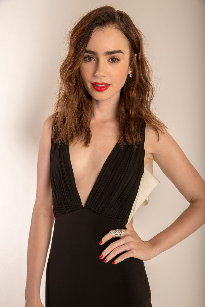 lily collins photos photos 15th annual costume designers