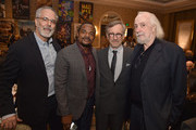 (L-R) AFI Vice Chair of the Board of Trustees Jon Avnet, directors F. Gary Gray and Steven Spielberg and screenwriter Robert Towne attend the 16th Annual AFI Awards at Four Seasons Hotel Los Angeles at Beverly Hills on January 8, 2016 in Beverly Hills, California.