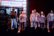 Recording Artists Deborah, Ann, Regina and Alfreda McCrary of The McCrary Sisters, along with their brother Alan McCrary, perform during the 16th Annual Americana Music Festival and Conference at The City Winery on September 19, 2015 in Nashville, Tennessee.
