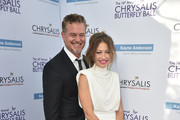 Actor Eric Dane (L) and Chrysalis Butterfly Ball Co-chair Rebecca Gayheart-Dane attend the 16th Annual Chrysalis Butterfly Ball at a Private Residence  on June 3, 2017 in Los Angeles, California.