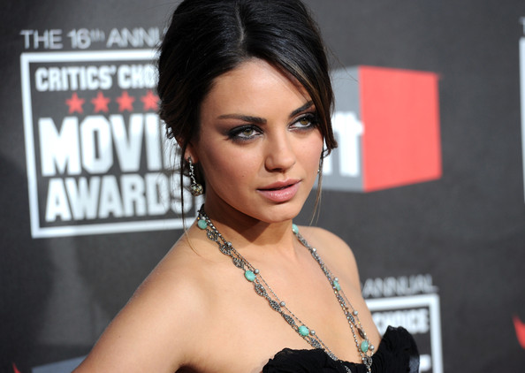 Mila+Kunis in 16th Annual Critics' Choice Movie Awards - Arrivals
