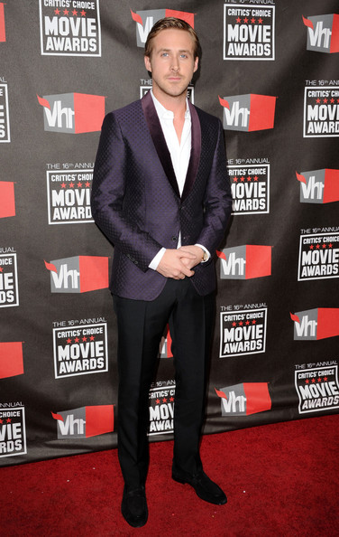 Actor Ryan Gosling arrives at the 16th annual Critics' Choice Movie Awards at the Hollywood Palladium on January 14, 2011 in Los Angeles, California.