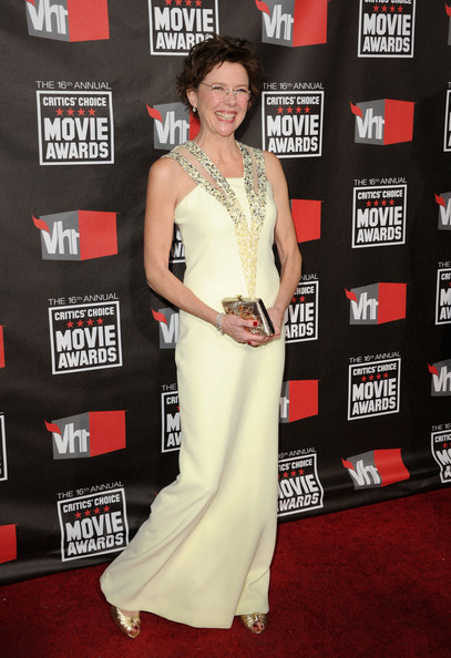 Actress Annette Bening attends arrives at the 16th annual Critics' Choice Movie Awards at the Hollywood Palladium on January 14, 2011 in Los Angeles, California.