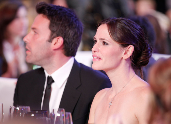 Actor Ben Affleck and actress Jennifer Garner pose during the 16th annual Critics' Choice Movie Awards at the Hollywood Palladium on January 14, 2011 in Los Angeles, California.