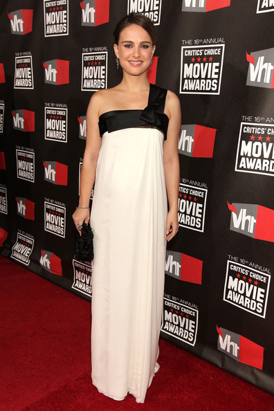 Actress Natalie Portman arrives at the 16th annual Critics' Choice Movie Awards at the Hollywood Palladium on January 14, 2011 in Los Angeles, California.