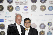 (L-R) American singer, composer, actor Pat Boone and Chairman/CEO SBMT & President of Brain Mapping Foundation Dr. Babak Kateb attend the 16th annual 'Gathering for Cure' black tie awards gala of Brain Mapping Foundation on March 16, 2019 in Los Angeles, California.