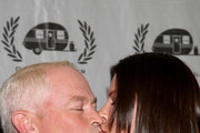 Actor Neal McDonough and Ruve McDonough attend the 16th annual Golden Trailer Awards held at Saban Theatre on May 6, 2015 in Beverly Hills, California.
