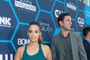 Actors Dascha Polanco (L) and Pablo Schreiber arrive at the 16th Annual Young Hollywood Awards at The Wiltern on July 27, 2014 in Los Angeles, California.