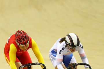 Wongyeong Kim 16th Asian Games - Day 4: Cycling - Track