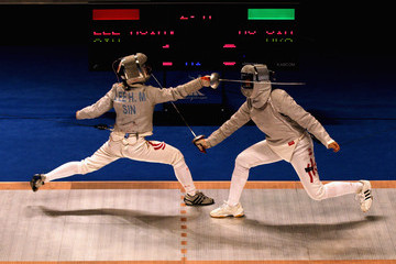 Sin Ying Au 16th Asian Games - Day 6: Fencing