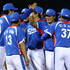 Sihyun Son Photos - (2nd R) Shin-soo Choo #17 of South Korea celebrates along with his teammates after their 9-3 victory against Chinese Taipei to win the gold medal at Aoti Baseball Field 1 during day seven of the 16th Asian Games Guangzhou 2010 on November 19, 2010 in Guangzhou, China. - 16th Asian Games - Day 7: Baseball