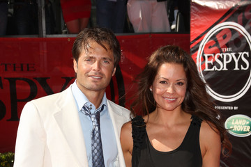 Brooke Burke David Charvet 17th Annual ESPY Awards - Arrivals