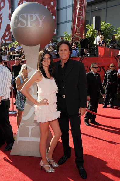 Kendall Jenner Olympian Bruce Jenner (R) and daughter Kendall Jenner arrive at the 2009 ESPY Awards held at Nokia Theatre LA Live on July 15, 2009 in Los Angeles, California. The 17th annual ESPYs will air on Sunday, July 19 at 9PM ET on ESPN.