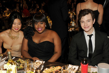 Jenna Ushkowitz Chris Colfer 17th Annual Screen Actors Guild Awards - Cocktail Reception