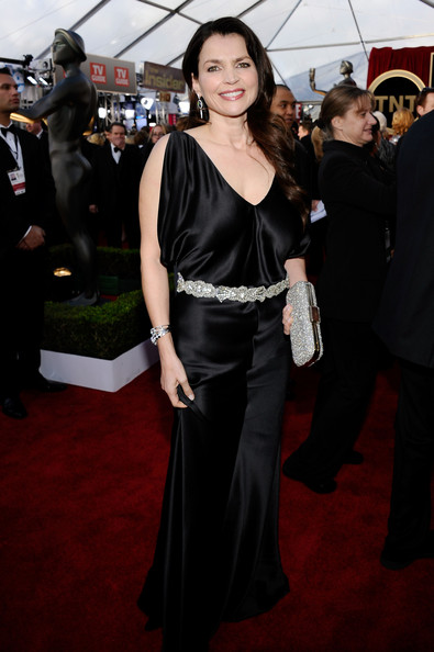 Actress Julia Ormond arrives at the 17th Annual Screen Actors Guild Awards held at The Shrine Auditorium on January 30, 2011 in Los Angeles, California.