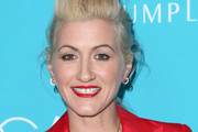 Costume designer Trish Summerville attends the 17th Costume Designers Guild Awards with presenting sponsor Lacoste at The Beverly Hilton Hotel on February 17, 2015 in Beverly Hills, California.
