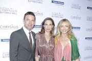 (L-R) Dougray Scott. Claire Forlani and Rebecca Gayheart-Dane attend the 18th annual Chrysalis Butterfly Ball on June 01, 2019 in Brentwood, California.