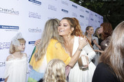 Rebecca Gayheart-Dane and Maria Menounos attend the 18th annual Chrysalis Butterfly Ball on June 01, 2019 in Brentwood, California.
