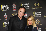 "Bob Saget and Candace Cameron-Bure attend the 18th Annual International Beverly Hills Film Festival Opening Night Gala Premiere of ""Benjamin"" at TCL Chinese 6 Theatres on April 4, 2018 in Hollywood, California."