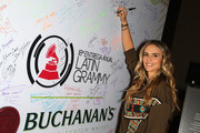 Karen Martinez attends the gift lounge during the 18th annual Latin Grammy Awards at MGM Grand Garden Arena on November 15, 2017 in Las Vegas, Nevada.