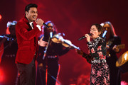 Natalia Lafourcade and Carlos Rivera Photos Photo