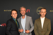 (L-R) Actors Kieran Culkin, Alan Ruck, and Jeremy Strong attend the 19th Annual AFI Awards at Four Seasons Hotel Los Angeles at Beverly Hills on January 4, 2019 in Los Angeles, California.