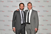 Vincent Piazza (L) and John Sialiano attend the 19th Annual Project ALS Benefit Gala at Cipriani 42nd Street on October 25, 2017 in New York City.